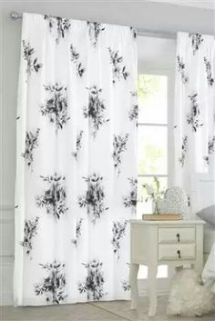 Buy Cotton Rich Retro Tulip Eyelet Curtains from the Next UK