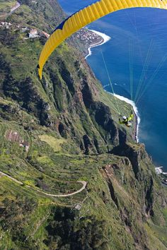 #Paragliding in #Madeira, #Portugal