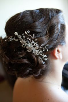 Wedding Hair Updo- loving with the haircomb
