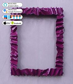 Works With Alexa, Amazon, It Works, Android, Frame, Google, Design, Decor, Picture Frame