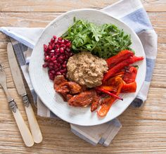 Sun-Dried Tomato Baba Ganoush