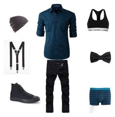 """My style"" by rmgramirez on Polyvore featuring Converse, LE3NO, Express, Burton, MANGO MAN, Calvin Klein, men's fashion and menswear"