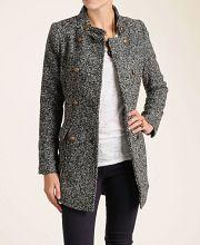 Aryn K Double Breasted Wool-Blend Coat