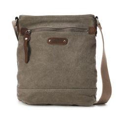 The Same Direction Tapa Two-Tone Canvas Crossbody Bag Canvas Crossbody Bag 369d034b78a33