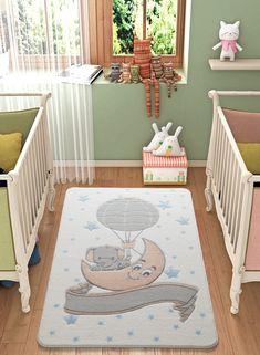 Covor pentru copii Moonlight Alb 100x150 Light Blue Area Rug, White Area Rug, Beige Area Rugs, Childrens Rugs, Baby Room Rugs, Bathroom Rug Sets, Bath Rugs, Kids Room, Confetti