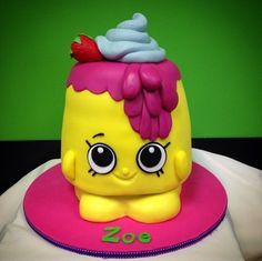 Shopkins - Cake by The Sweet Duchess