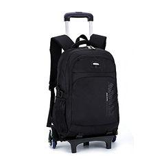 YUB Trolley School Bags Student Boys Rolling Backpack Sch... https    32191979139ac