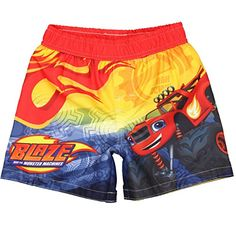 86dcb7601c379 Blaze Toddler Boys' and the Monster Machines Swim Trunk - Red