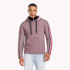ad604f70ed4557 Tommy Hilfiger Lewis Hamilton Striped Hoodie - XXL Tommy Hilfiger Outfit