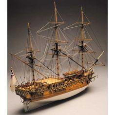 Royal Caroline, ship model kit Panart 750