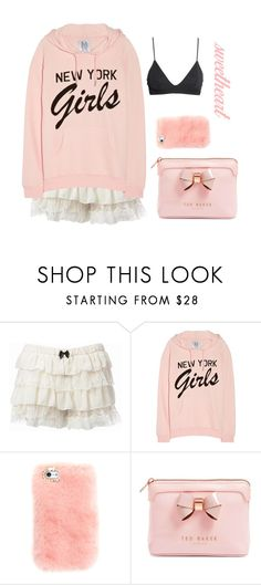 """""""New York Girl"""" by faanciella ❤ liked on Polyvore featuring Zoe Karssen, Ted Baker and H&M"""