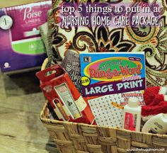 Appropriate gifts for nursing home residents pinterest gift care package for nursing home negle Image collections