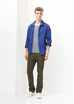 Clément Chabernaud & Charlie Timms Appear in Lacostes Spring/Summer 2013 Lookbook