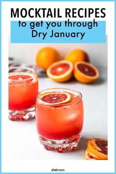This sparkling blood orange mocktail with honey and vanilla is a refreshing winter spritzer. It's an easy mocktail – the perfect drink for Dry January or a pretty non-alcoholic drink for girls night. Source by marisamoore Mocktail Drinks, Brunch Drinks, Fun Drinks, Healthy Drinks, Best Mocktails, Mixed Drinks, Alcoholic Punch Recipes, Non Alcoholic Cocktails, Drinks Alcohol Recipes