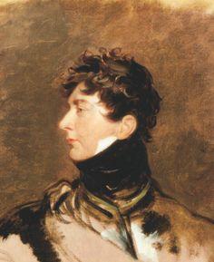 Portrait du roi George IV par Thomas Lawrence