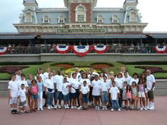 Family reunion....Disney is a place for all ages.  Mickeytravels.com