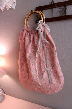 Handsewn Feedsack Shopping Tote Reusable by SweetRepeatVintage, $17.95