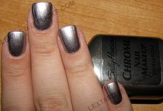 Sally Hansen Chrome Nail Makeup - Black Pearl Chrome