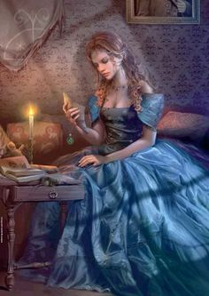 Reading - Cris Ortega Beautiful artwork of woman reading by Chris Ortega Fantasy Characters, Female Characters, Story Characters, Cris Ortega, Melanie Delon, Earth Design, Fairytale Art, Fantasy Women, Deviantart