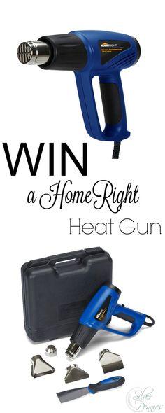 Win a HomeRight Heat Gun - Finding Silver Pennies Win A House, Heat Gun, Pennies, Knock Knock, Diy Ideas, Hobbies, Guns, Tools, Friends