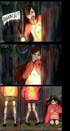 Mabill, Billdip, Gravity Falls, Wattpad, Anime, Art, Art Background, Kunst, Gravity Falls Bill