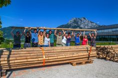 BASEhabitat SUMMER SCHOOL 2014 Summer School, Sustainability, Bamboo, Construction, Earth, To Study, Architecture, Building, Sustainable Development