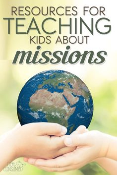 What are the benefits to teaching kids about missions? What are the best resources to use? When it comes to missions, sometimes we aren't sure how to even get started. This post will help! You'll love these missions resources, printables, and missionary books for kids.