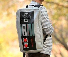 Nintendo Controller Backpack http://www.thisiswhyimbroke.com/nintendo-controller-backpack