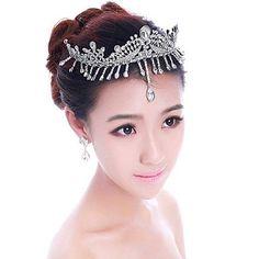 1 Pc Spring Pearl Princess Tiara Baby Tiaras Girl Headband Head Wear CB02