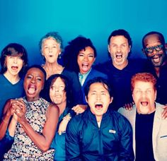 TWD Family for EW SDCC 2015 Photo by Michael Muller
