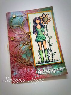 Wine, Cheese and Scrapbooking: Bloom!