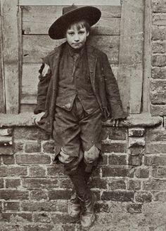 Horace Warner One of the Spitalfields Nippers Spitalfields, London, 1912