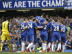 Didier Drogba carried off by Chelsea team-mates in final game - but he wasn't injured, the substitution was pre-planned - Premier League - Football - The Independent