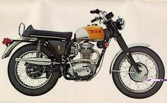 BSA Victor 441 Special 67 - My dad had one of these back in the day! :-)