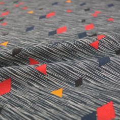 Abstract Lightweight Sweatshirt - Black – Fabrics Galore