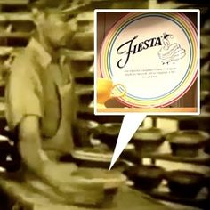 Interesting video looking at the history of Fiestaware (since the 30s!) ~ fascinating seeing the evolution of the factory in West Virginia over the years...
