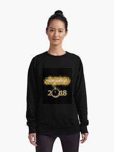 """2018 New Year-Gold life"" Lightweight Sweatshirt by sabahi4u   Redbubble"