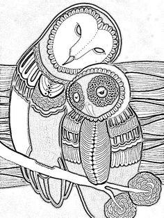 Owl-paar 7011