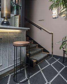 Maison HAND - CAFE du TROCADERO - rénovation et décoration d'intérieur - photos Guillaume GRASSET