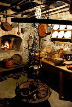 Good Old Times, The Good Old Days, Asturian, Asturias Spain, Paraiso Natural, Basque Country, Dream Rooms, Rustic Kitchen, Medieval