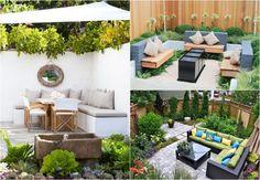 Gartengestaltung Für Kleine Gärten   Ideen, Bilder, Beispiele