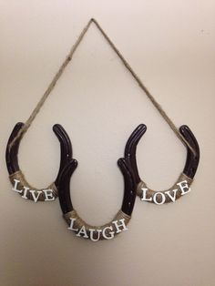 Hey, I found this really awesome Etsy listing at https://www.etsy.com/listing/172291602/handmade-3-horseshoe-wall-or-door-decor