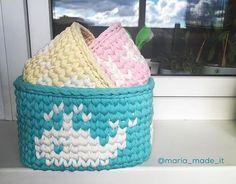 Набор корзинок в детскую #kidsroom #детская #вяжутнетолькобабушки #вязаниекрючком #crochet #трикотажнаяпряжа #тпряжа #вязание #хобби #корзиныдляхранениядетскихвещей #knitting #interior #interiordesign #decor #baskets #trapillo #tshirtyarn