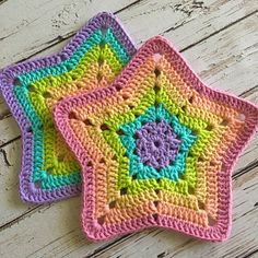 Granny Star Coaster N Motif Crochet pattern by Island Style Crochet – Granny Square Crochet Coaster Pattern, Crochet Motifs, Crochet Dishcloths, Granny Square Crochet Pattern, Washcloth Crochet, Crochet Bunting Pattern, Point Granny Au Crochet, Crochet Ripple Blanket, Crochet Blanket Patterns