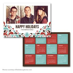 Vintage Stack Holiday Card Template  I Heart This