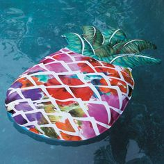Get the most out of your water activities with the selection of pool floats at Frontgate. Shop now for stylish and functional pool floats for adults. Pineapple Pool Float, Pool Accessories, Summer Wallpaper, Pool Floats, Floral Artwork, Pool Toys, Summer Fun, Summer Things, Summer Time