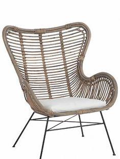 Kussen Voor Rotan Schommelstoel.J Line Oosterse Rotan Stoel Met Kussen 70 Jline By Jolipa 71336