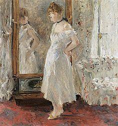 La Psyché, 1877-1879, Berthe Morisot