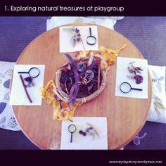 reggio activities exploring natural materials an everyday story This Week… 3/52