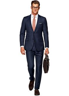 Sienna Blue Birds Eye $749 CAD This dark blue Sienna suit is among the most luxurious of our fits. With details like real horn buttons, sous bras, and natural shoulder, this 2-button suit is cut in S130's wool by Vitale Barberis Canonico and comes with flat front trousers.  Product code P3485LI